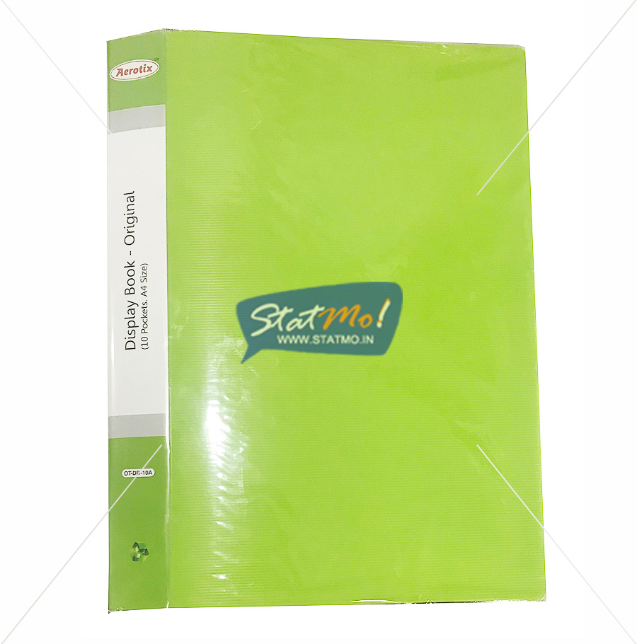 Aerotix Display Book A4 Size by StatMo.in