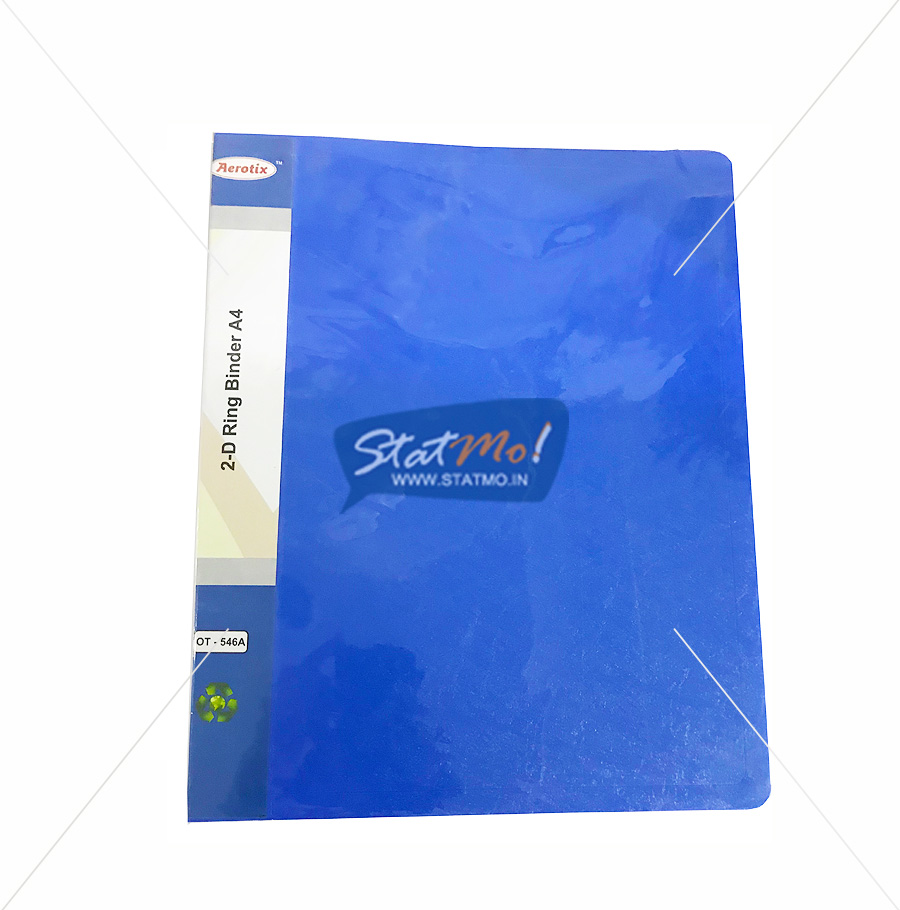 Aerotix Ring Binder 2D A4 Size by StatMo.in