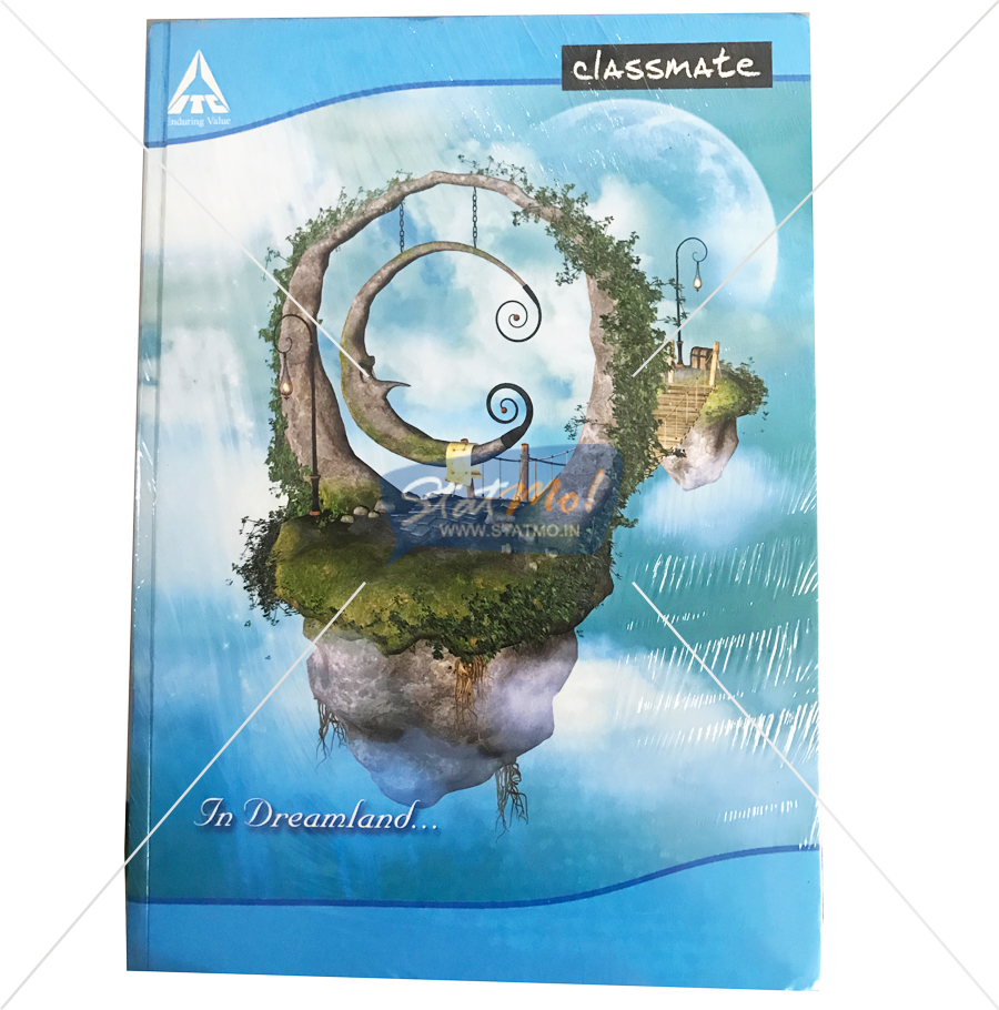Classmate Long Notebook 236 Pages by StatMo.in
