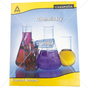 Classmate Practical Notebook Chemistry 116 Pages by StatMo.in