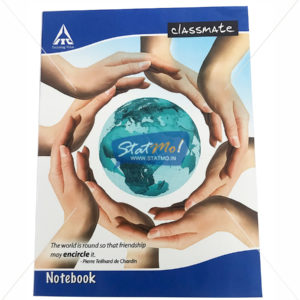Classmate Square Notebook 120 Pages by StatMo.in