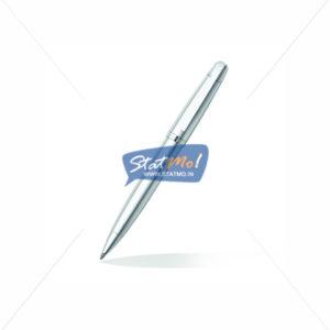 Sheaffer 500 Bright Chrome Ballpoint Pen 9330 by StatMo.in