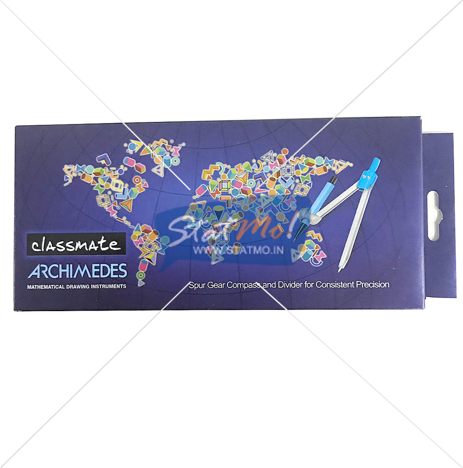 Classmate Archimedes Mathematical Drawing Instruments Box by StatMo.in