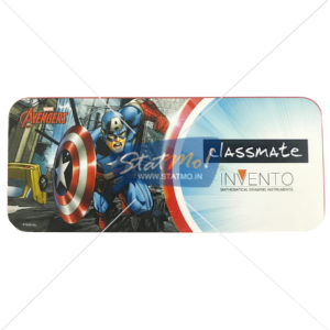 Classmate Invento Captain America Mathematical Drawing Instruments Box by StatMo.in