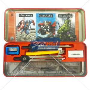 Classmate Invento Iron Man Mathematical Drawing Instruments Box by StatMo.in