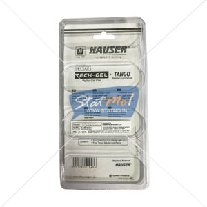 Hauser Tech Gel Roller Gel Pen 4 + 1 Pcs by StatMo.in