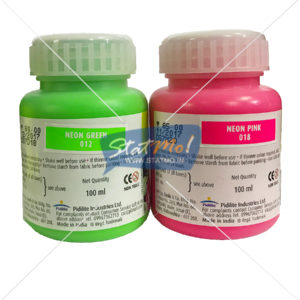 Pidilite Fevicryl Acrylic Neon Colour 100ML by StatMo.in