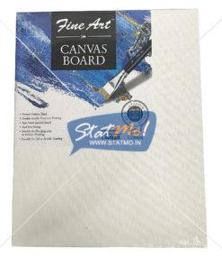 Pidilite Fine Art Canvas Board 20.32cm X 25.40cm (8 x 10 inch) by StatMo.in