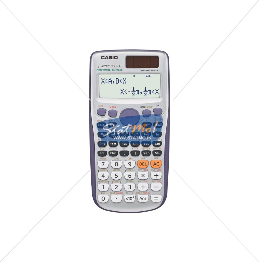 Casio FX-991ES PLUS Calculator by StatMo.in