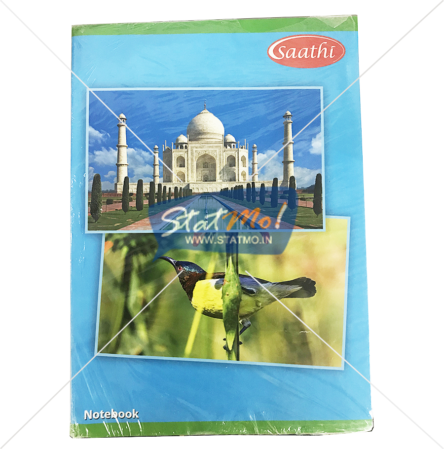 Classmate Long Notebook 400 Pages Single Line by StatMo.in