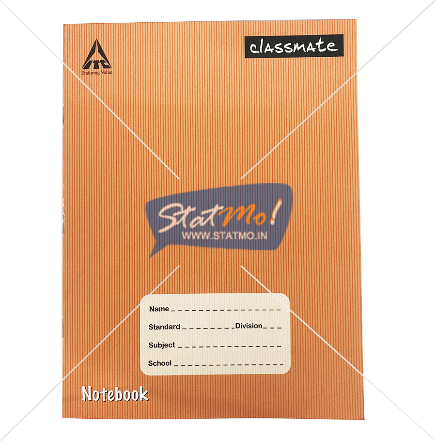 Classmate Notebook Five Line Pages 120 by StatMo.in