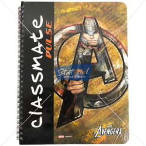 Classmate Pulse Spiral Notebook 180 Pages Single Line by StatMo.in