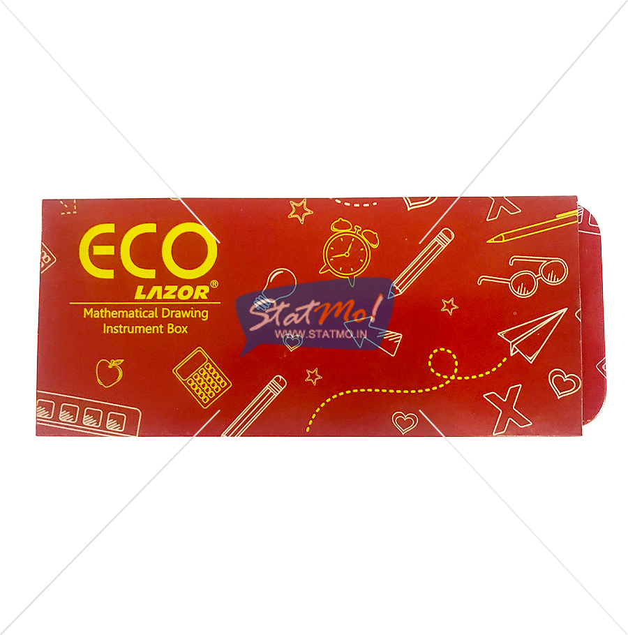Linc ECO Lazor Mathematical Drawing Instruments Box by StatMo.in
