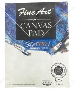Pidilite Fine Art Canvas Pad 22.86cm X 30.48cm (9x 12 inch) by StatMo.in