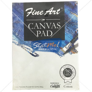 Pidilite Fine Art Canvas Pad 22.86cm X 30.48cm (9x 12 inch) by StatMo.in