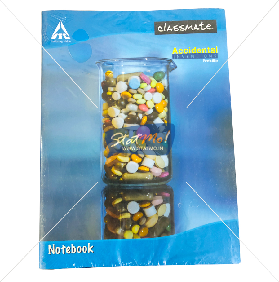 Classmate Notebook 180 Pages Unruled by StatMo.in