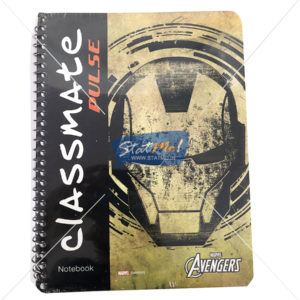 Classmate Pulse Spiral Notebook Unruled 180 Pages by StatMo.in
