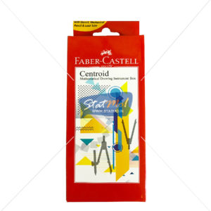 Faber Castell Centroid Mathematical Draing Instrument Box by StatMo.in