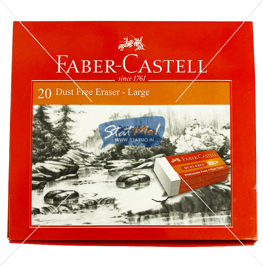 Faber Castell Dust Free Eraser Large by StatMo.in