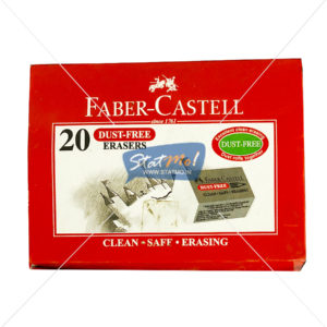 Faber Castell Dust Free Eraser by StatMo.in