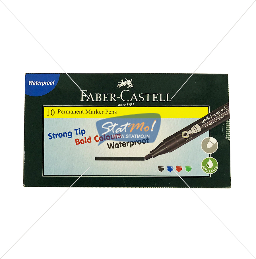Faber Castell Permanent Marker Pen by StatMo.in