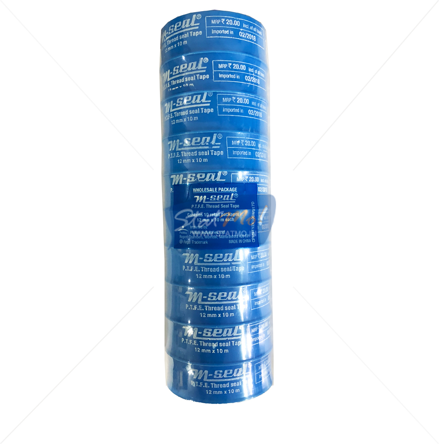 Pidilite M-Seal P.T.F.E Thread Seal Tape Set of 10 by StatMo.in