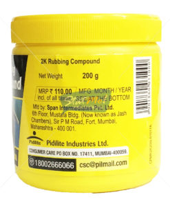 Pidilite Motomax 2K Rubbing Compound by StatMo.in