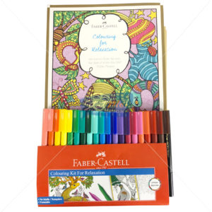Faber Castell Colouring Kit for Relaxation by StatMo.in