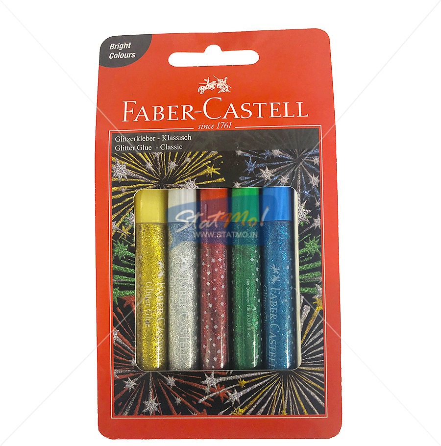 Faber Castell Glitter Glue Classic by StatMo.in