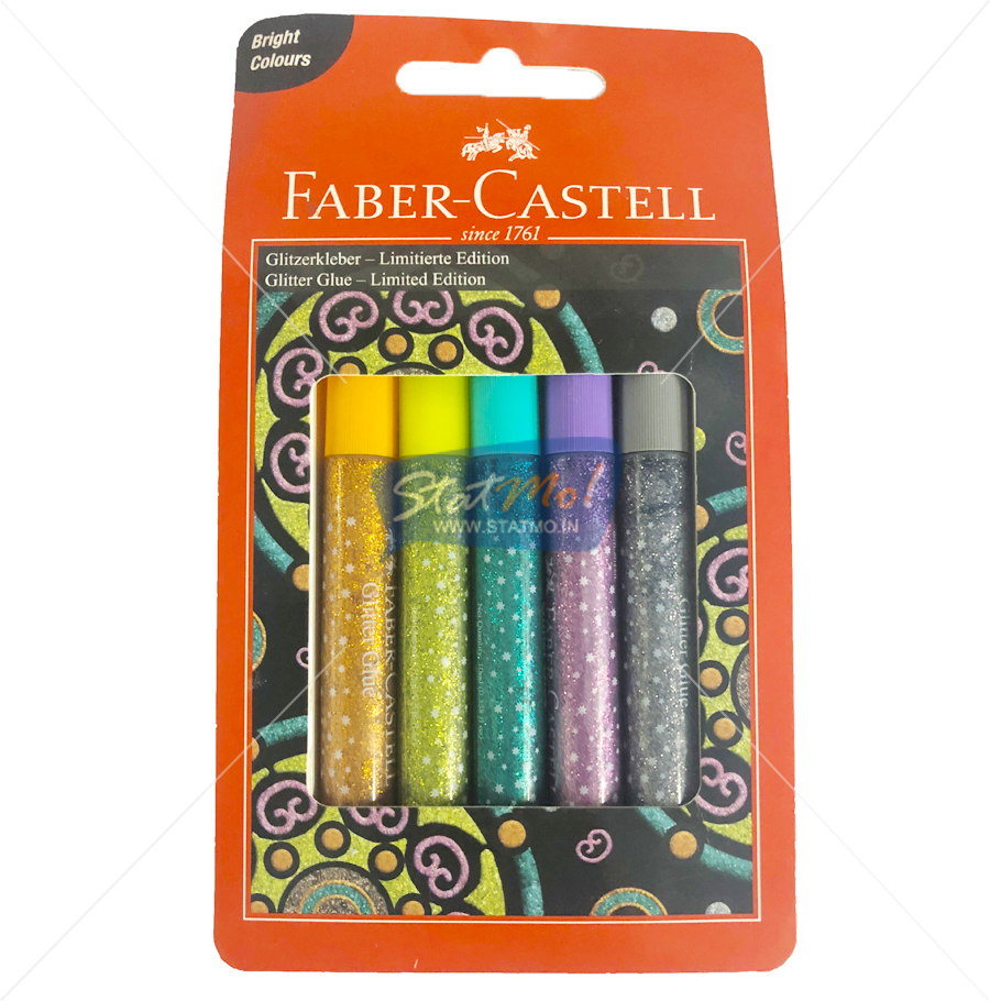 Faber Castell Glitter Glue Limited Edition by StatMo.in