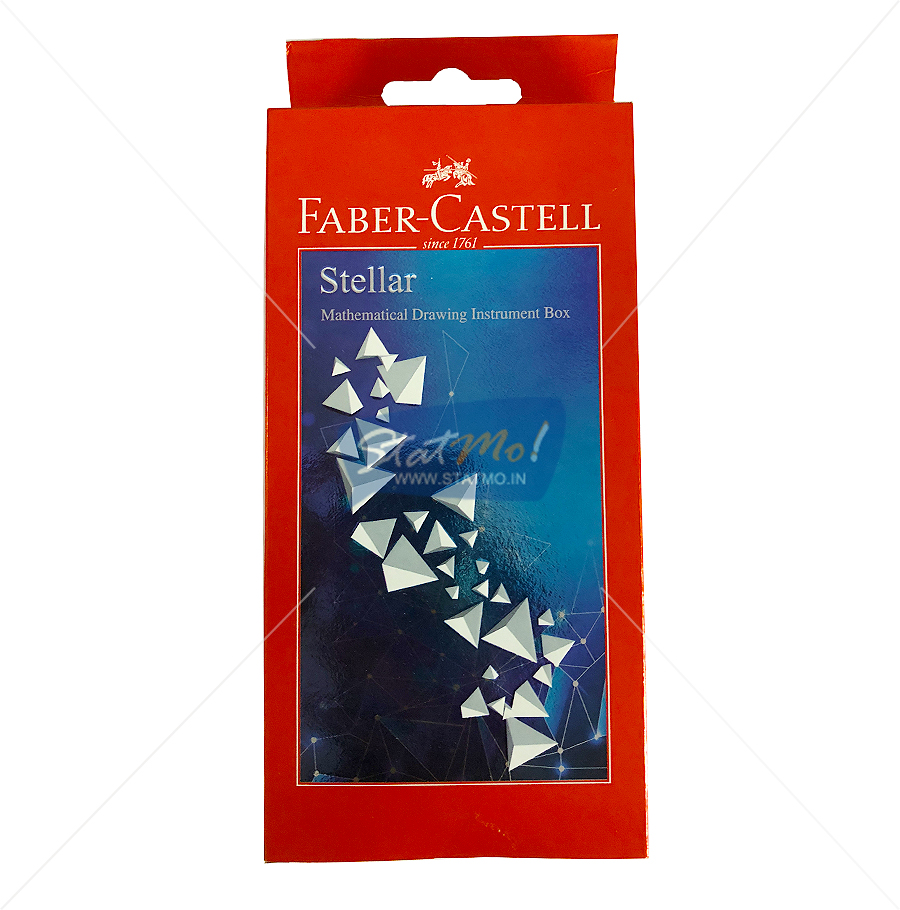 Faber Castell Stellar Mathematical Drawing Instrument Box by StatMo.in