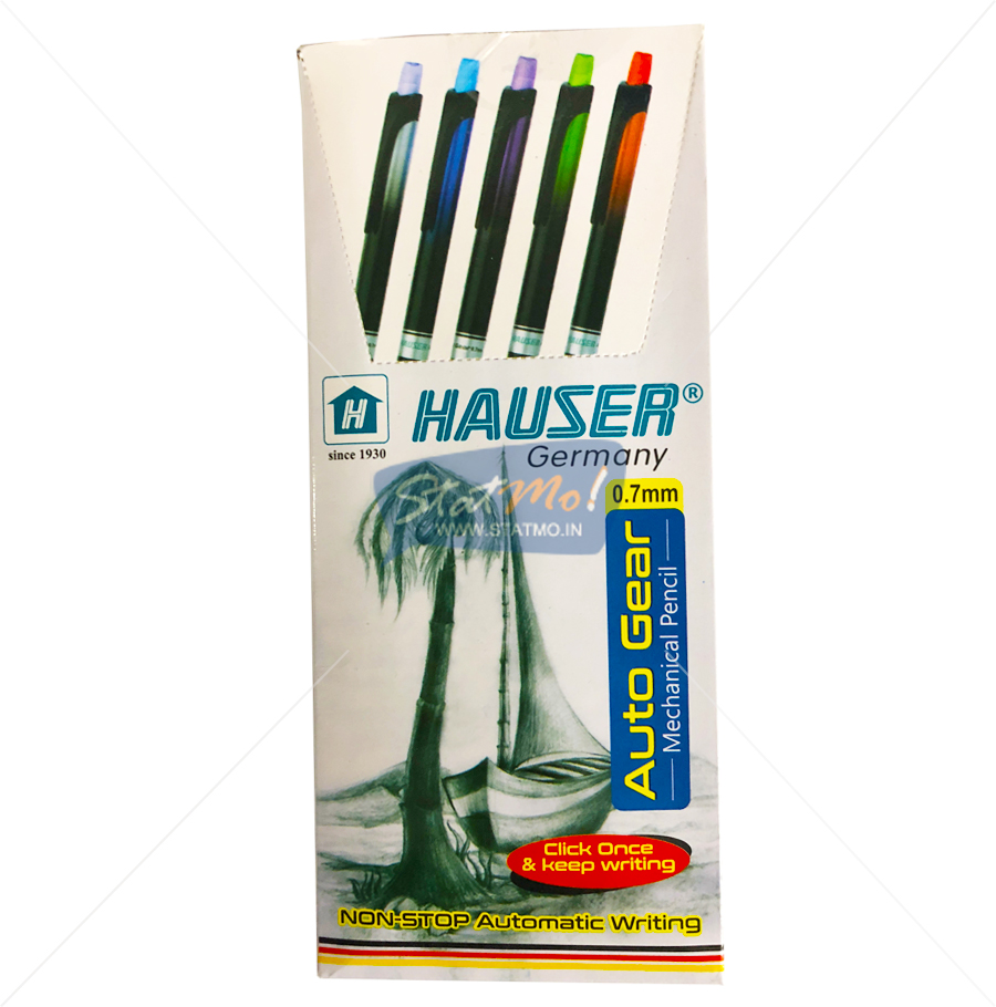 Hauser Auto Gear Mechanical Pencils Set of 2 by StatMo.in