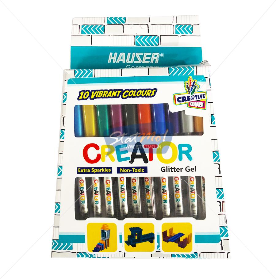 Hauser Creator Glitter Gel Pen by StatMo.in