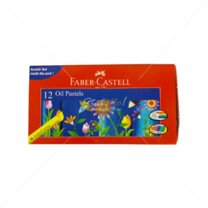 Faber Castell Oil Pastel 12 Shades by StatMo.in