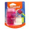 Maped Connect Translucent Duo Eraser and Sharpener by StatMo.in`