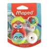Maped Loopy Totem Duo Sharpener & Eraser by StatMo.in