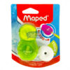 Maped Loopy Translucent Duo Sharpener & Eraser by StatMo.in
