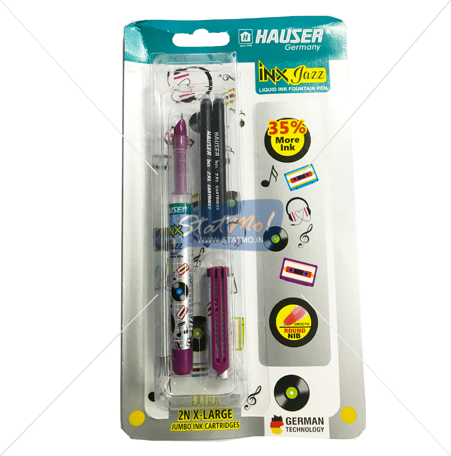 Hauser Inx Jazz Fountain Pen by StatMo.in