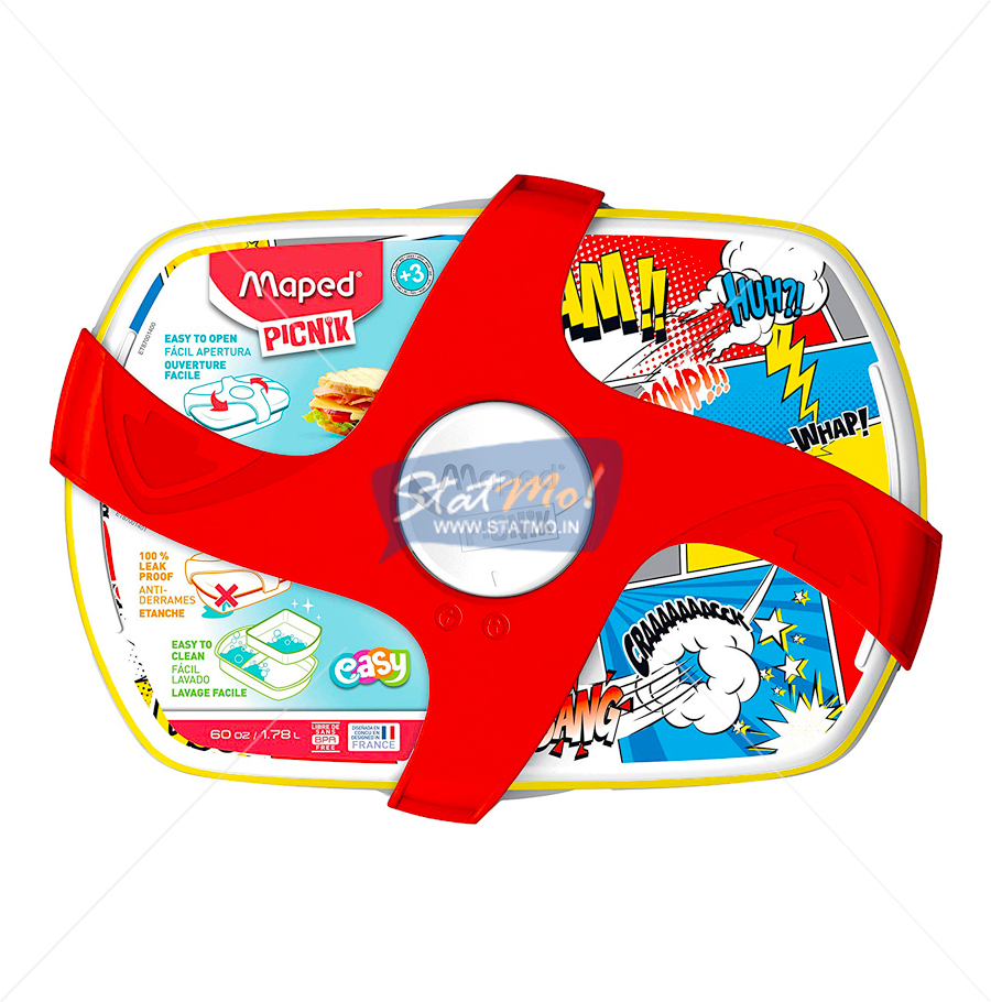 Maped Comics Lunch Box by StatMo.in