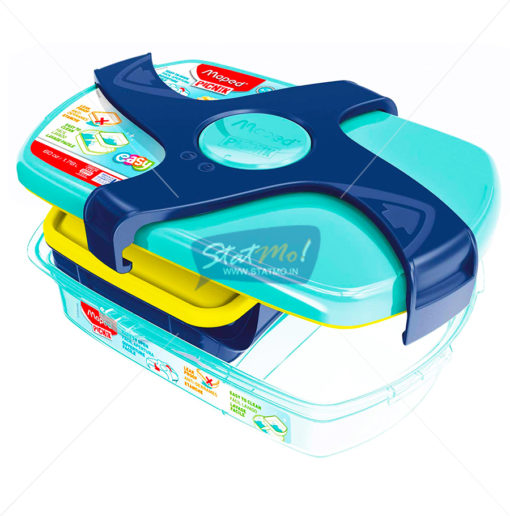Maped Lunch Box Blue/Green by StatMo.in