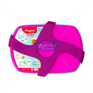 Maped Lunch Box Pink by StatMo.in