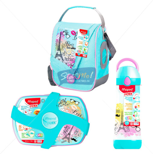 Maped Picnik Combo Bag, Bottle and Lunchbox by StatMo.in