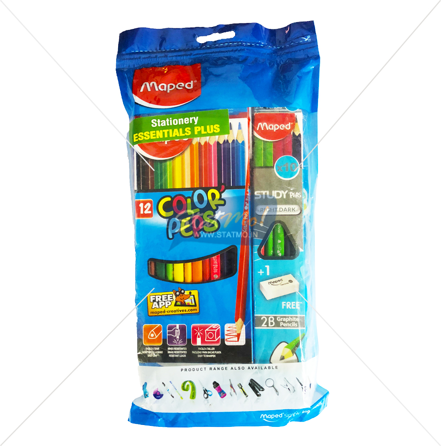 Maped Stationery Essentials Plus by StatMo.in