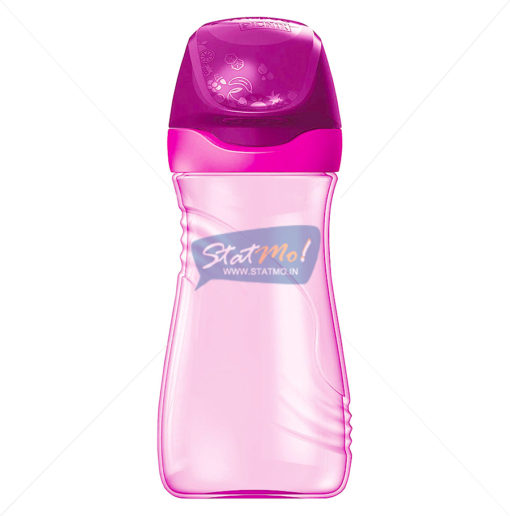 Maped Water Bottle Pink Light by StatMo.in