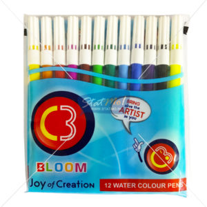 C3 Bloom 12 Water Colour Sketch Pen by StatMo.in