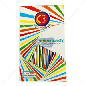 C3 Colorcandy Colour Pencils 12 Shades by StatMo.in