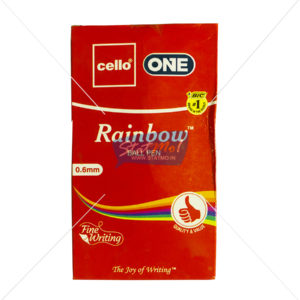 Cello One Rainbow Ball Pen by StatMo.in