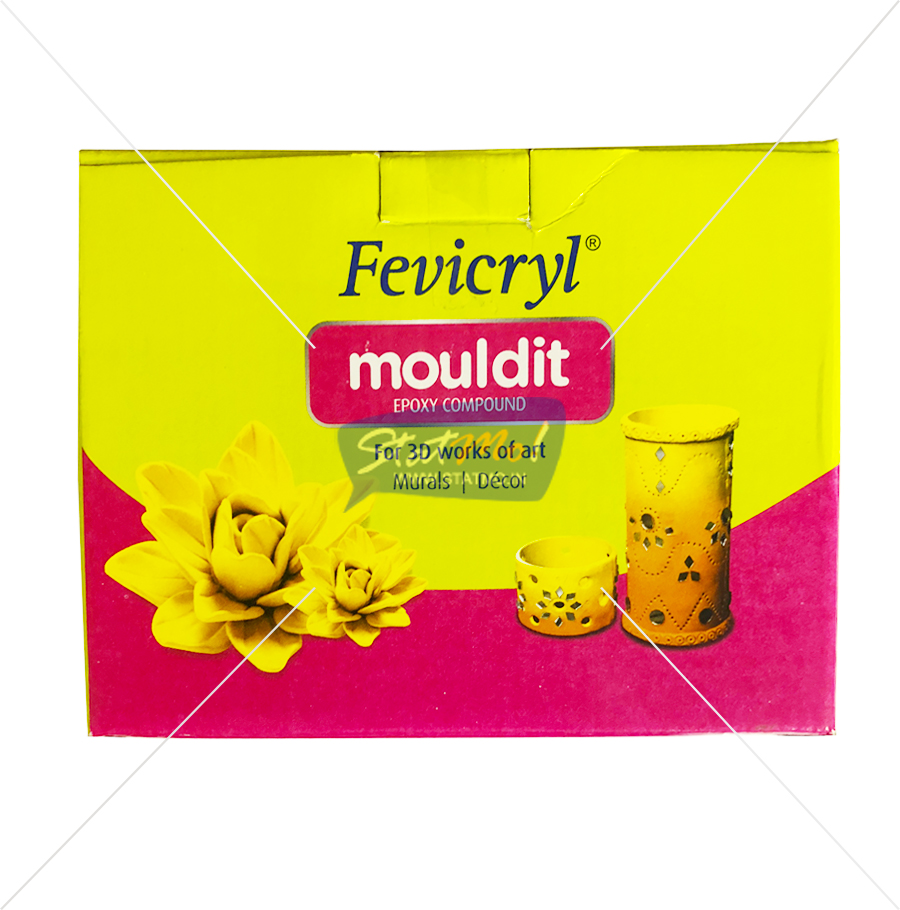 Pidilite Fevicryl Mouldit Set of 8 by StatMo.in