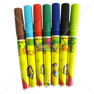 Rorito Happy hoo 14 Colours Markers Jar Pack by StatMo.in
