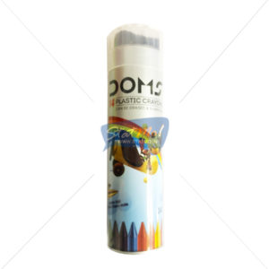 Doms Plastic Crayons 14 Shades by StatMo.in